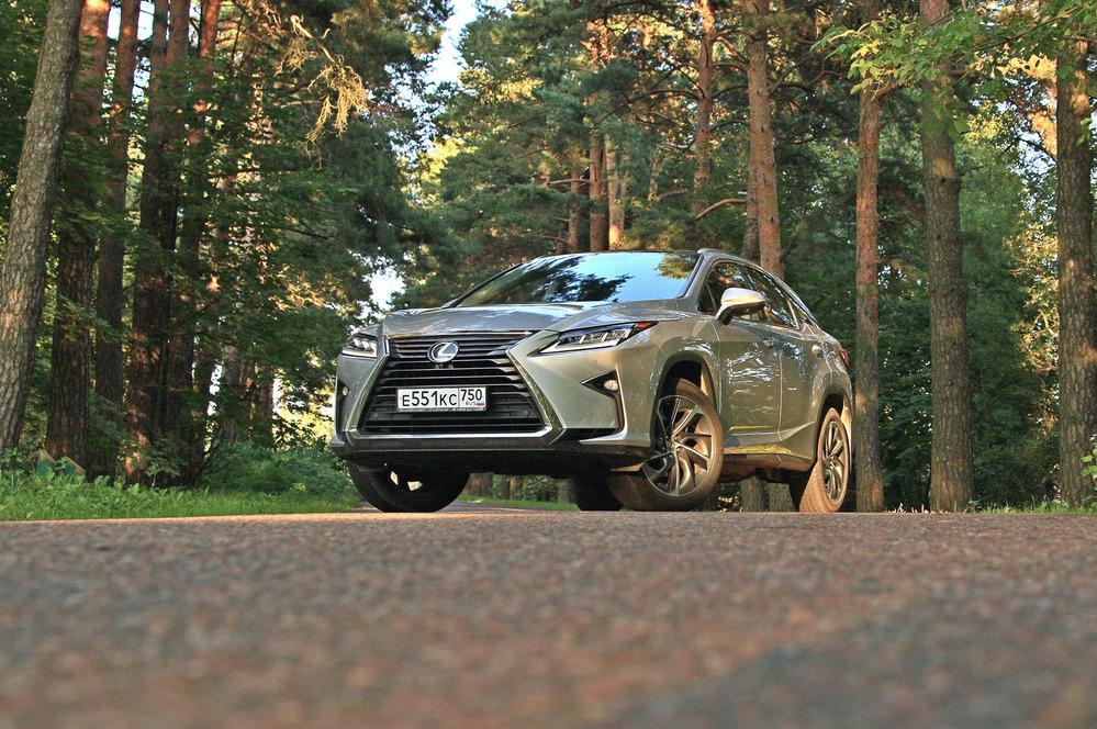 Тест-драйв Lexus RX350 от Am.ru