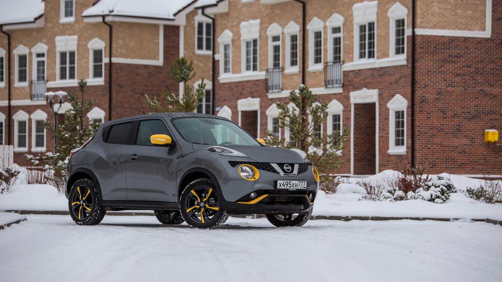 Тест-драйв Nissan Juke LE Perso.