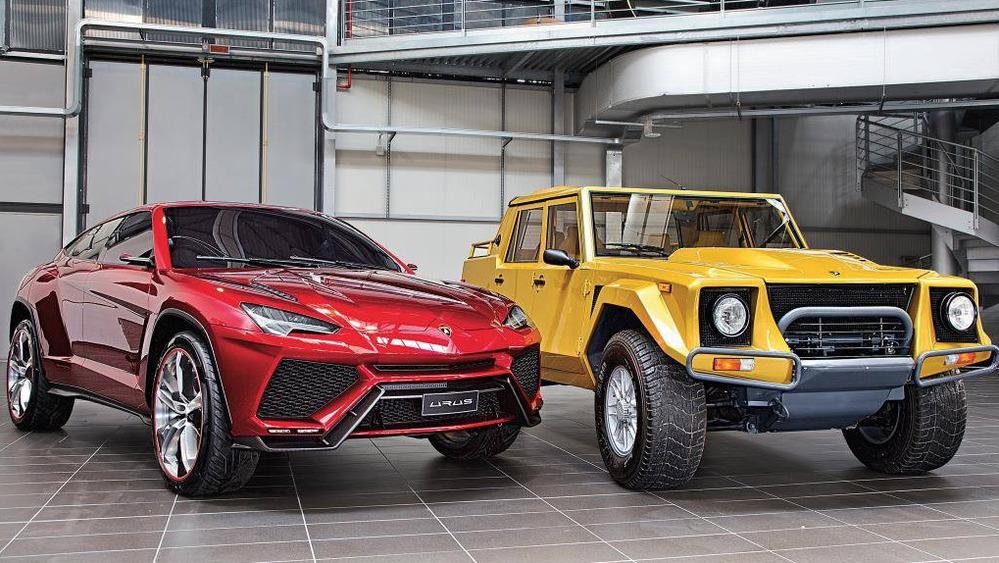 1-ый вистории компании Lamborghini кроссовер получит мотор мощностью 650 лошадиных сил