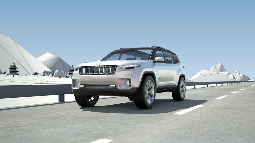 Jeep показал большой кроссовер для Поднебесной.