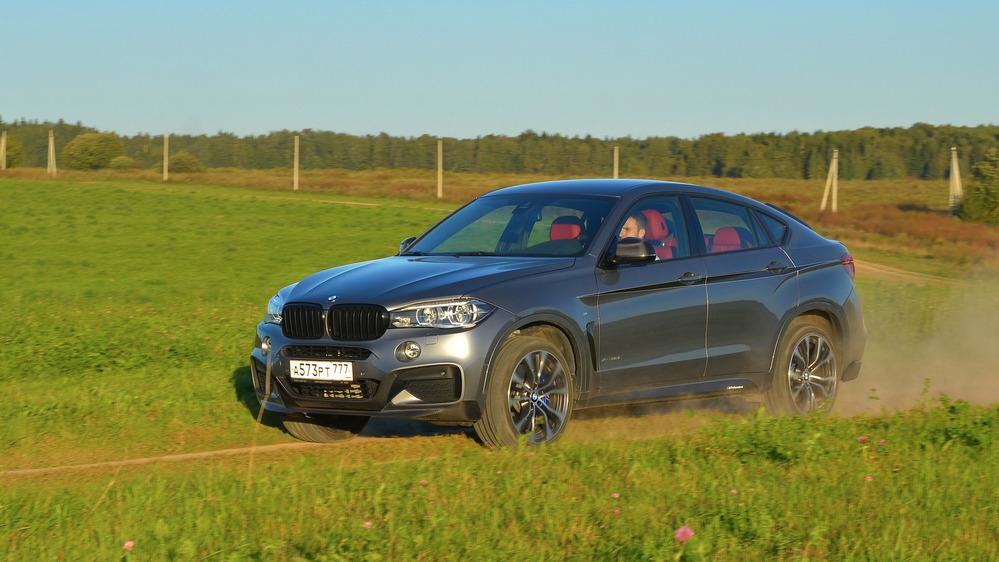 Тест-драйв BMW X6 от Am.ru