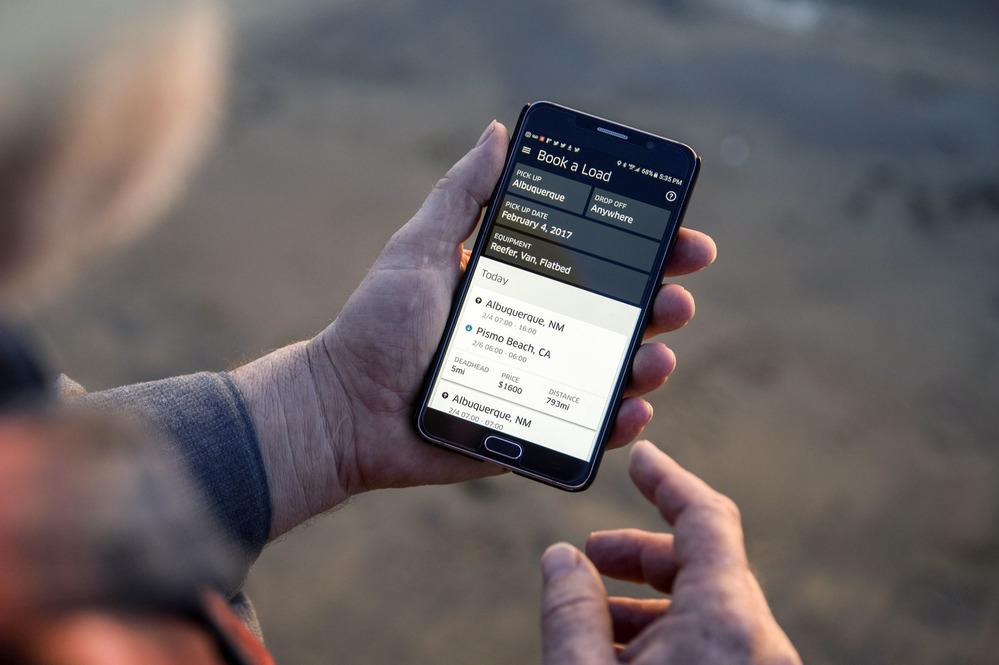 Uber создал приложение для дальнобойщиков.Новости Am.ru