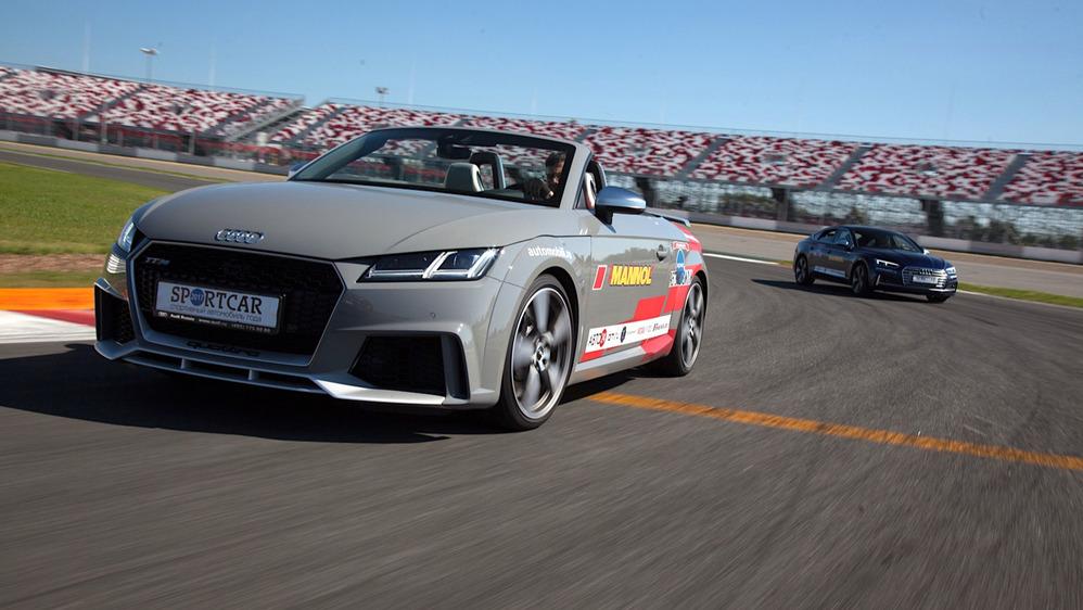 Тест-драйв Audi TT RS Roadster на треке – читать и смотреть фото на Am.ru