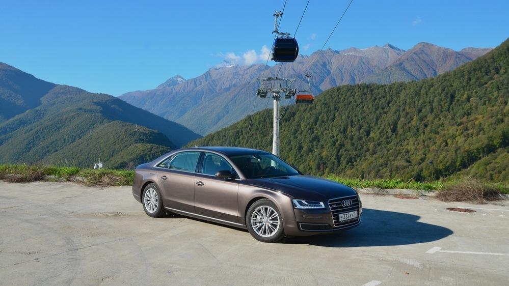 Длительный тест Audi A8