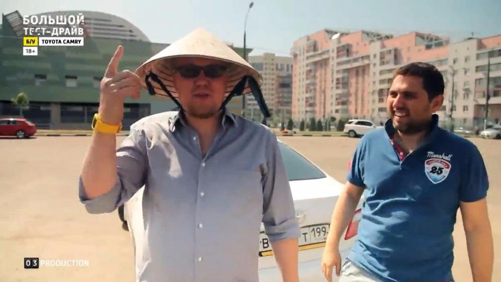 Большой тест-драйв (б/у) Toyota Camry Сергей Стиллавин