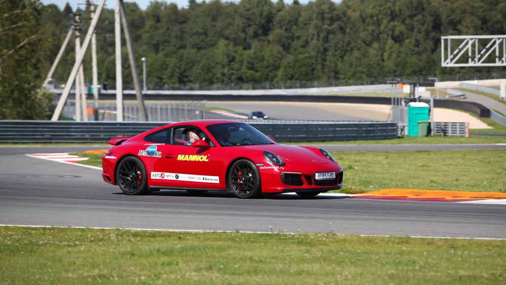 Тест-драйв Porsche 911 Carrera GTS на треке – читать и смотреть фото на Am.ru