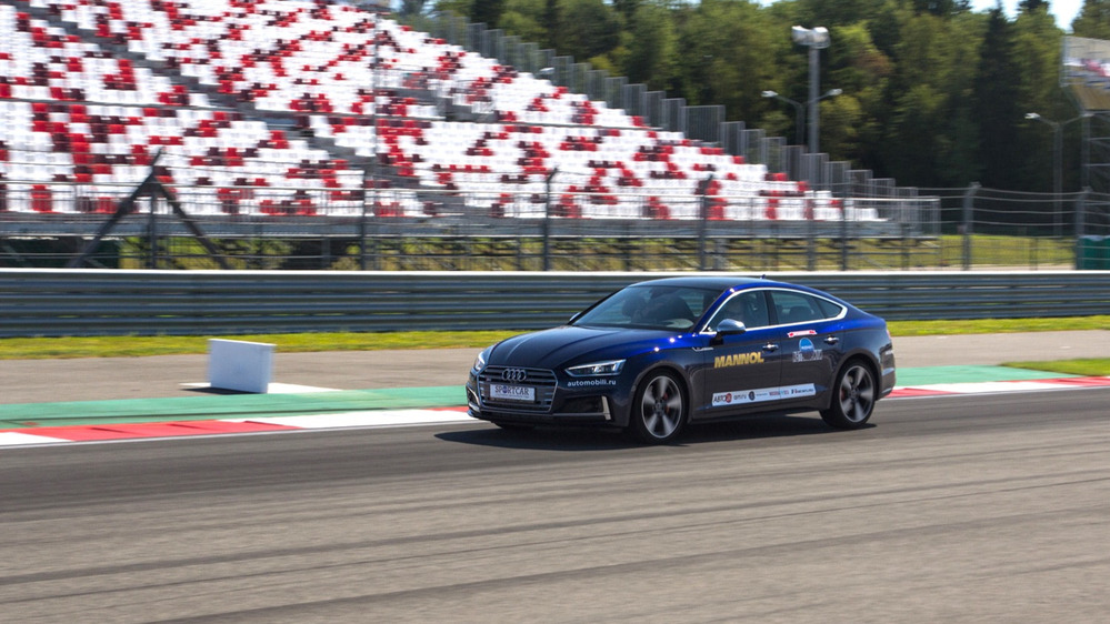 Тест-драйв Audi S5 Sportback на треке – читать и смотреть фото на Am.ru