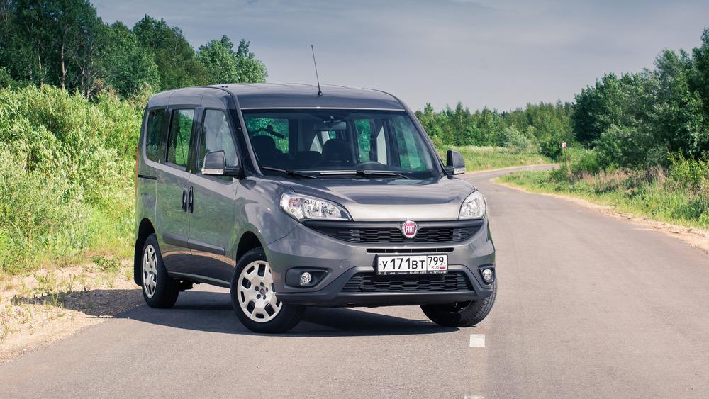 Тест-драйв обновлённого Fiat Doblo Combi.