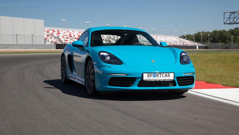 Тест-драйв Porsche 718 Cayman на треке – читать и смотреть фото на Am.ru