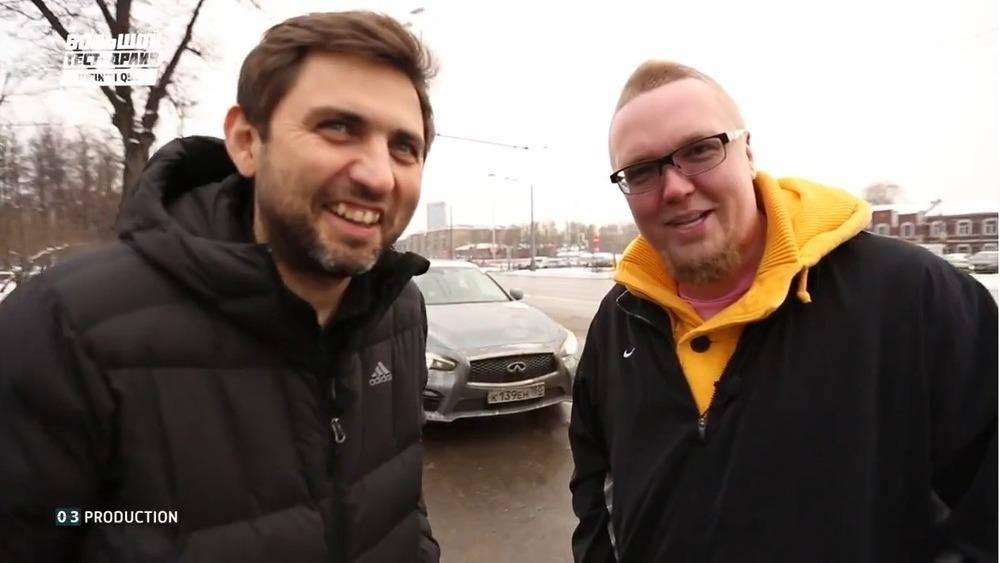 Видео тест-драйв Infiniti Q50S от Сергея Стиллавина – смотреть на  Am.ru
