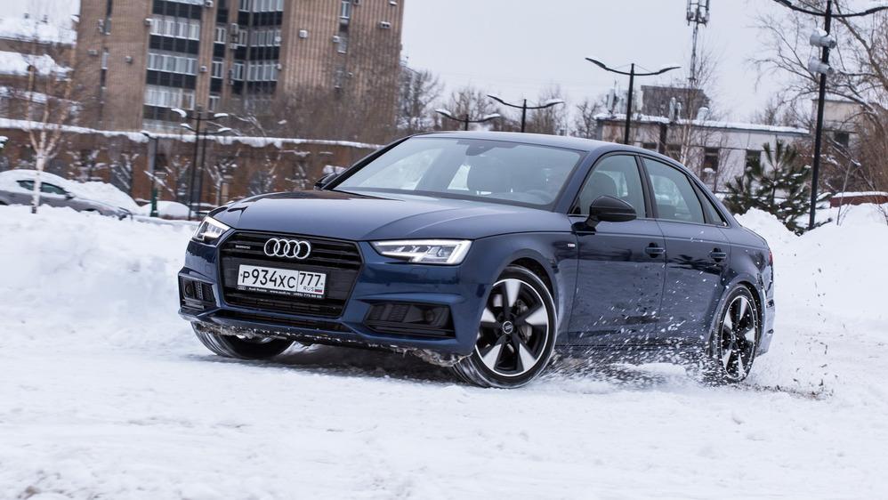 Тест-драйв Audi A4 - читать и смотреть фото на Am.ru