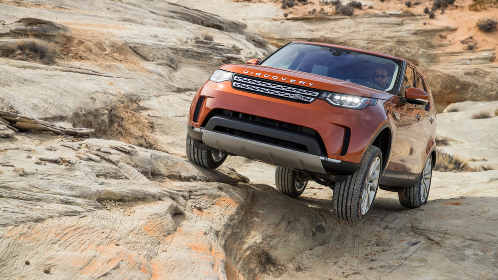 Первый тест-драйв Land Rover Discovery 5 от Am.ru
