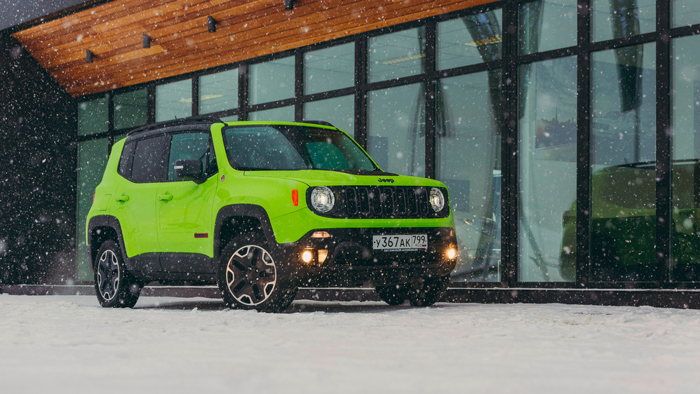 Тест-драйв Jeep Renegade TrailHawk.