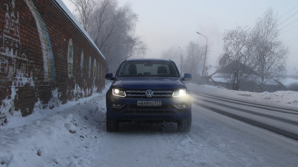 Путешествие в Великий Устюг на обновлённом Volkswagen Amarok Aventura.