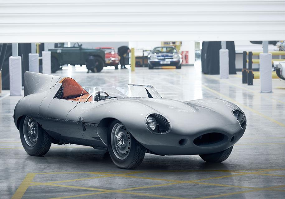 Ягуар возобновит производство гоночного D-Type 1956 года
