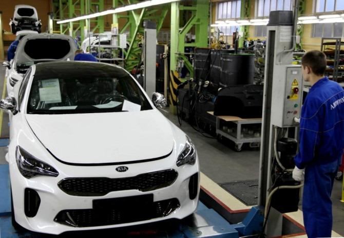 Калининградский завод АВТОТОР начал выпускать Киа Stinger