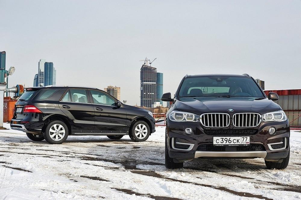 Тест-драйв BMW X5 xDrive30d или Mercedes ML350 CDI: Муки выбора