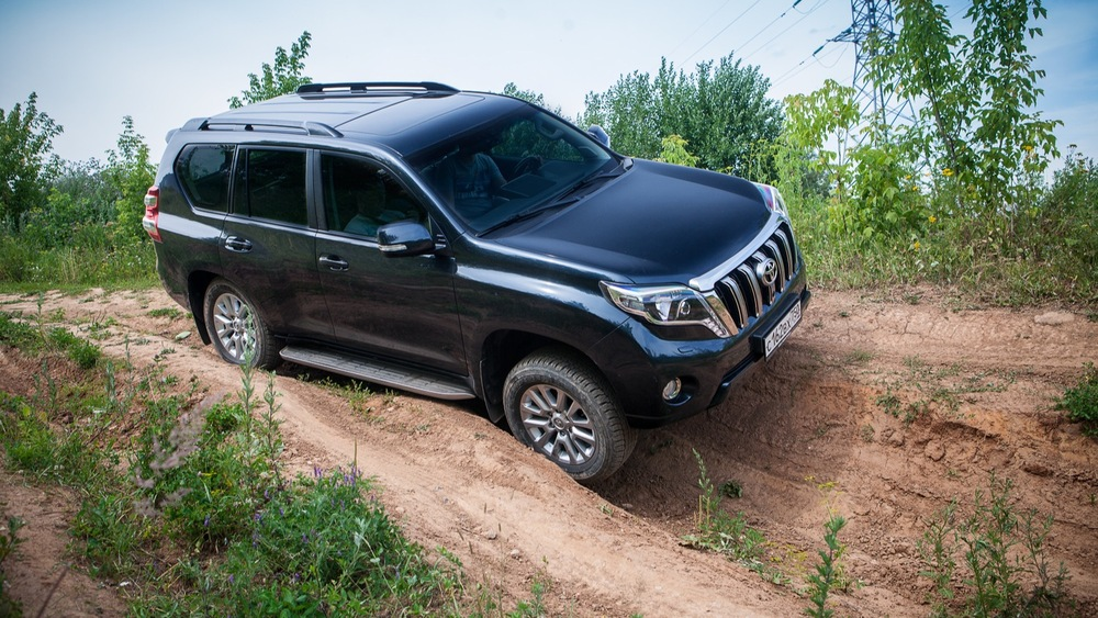 Тест-драйв Toyota Land Cruiser Prado