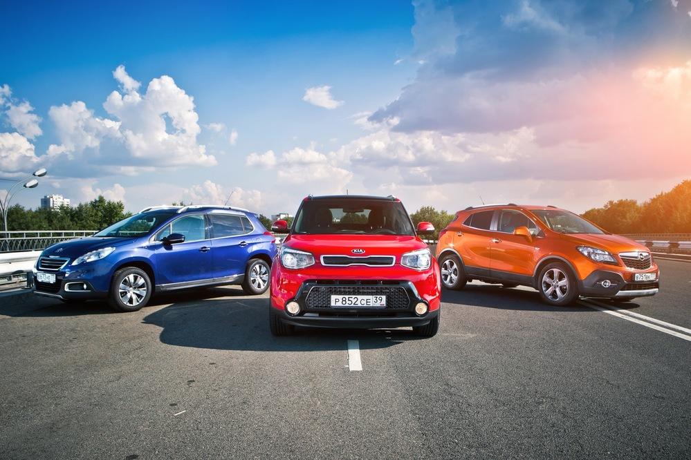 Тест-драйв Opel Mokka, Kia Soul и Peugeot 2008 - Как вы яхту назовете - Журнал am.ru