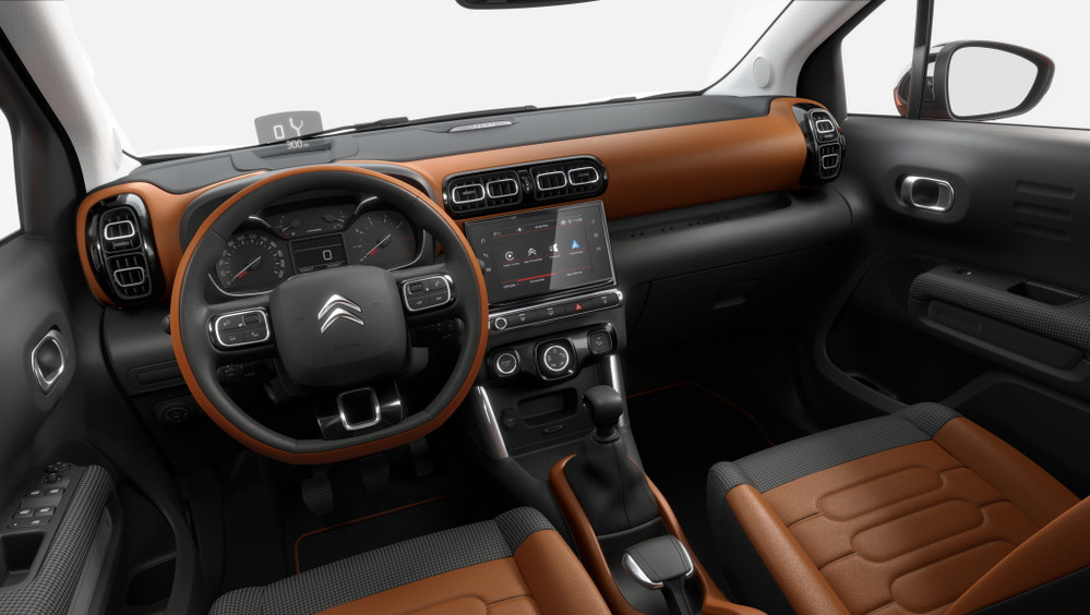 Фотогалерея Citroen C3 Aircross.