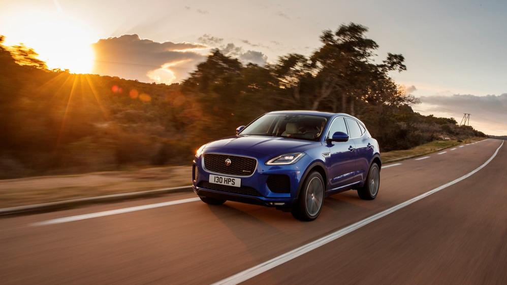 Тест-драйв Jaguar E-Pace – читать и смотреть фото на Am.ru