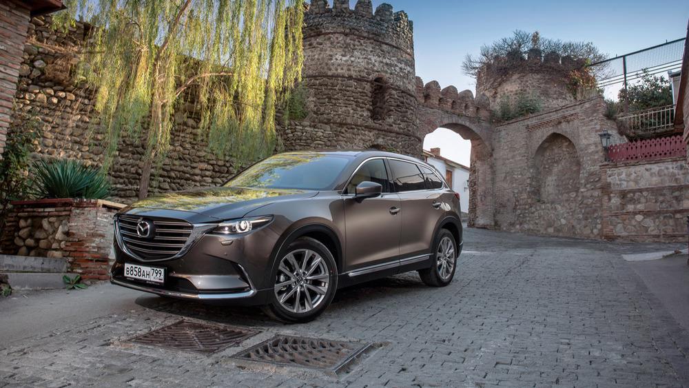 Тест-драйв Mazda CX-9 нового поколения – читать и смотреть фото на Am.ru