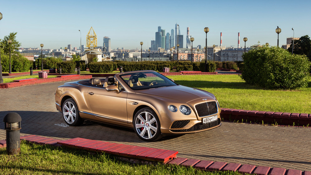 Тест-драйв Bentley Continental GTC V8S от Am.ru
