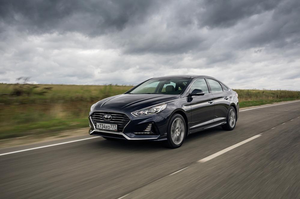 Тест-драйв Hyundai Sonata – читать и смотреть фото на Am.ru