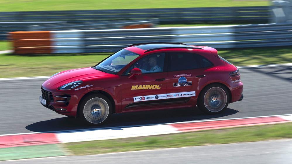 Тест-драйв Porsche Macan Turbo Performance на треке – читать и смотреть фото на Am.ru