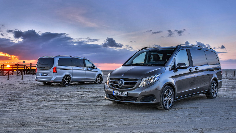 Тест-драйв Mercedes-Benz V-класса – обзор и фото Мерседес-Бенц V-класса от Am.ru