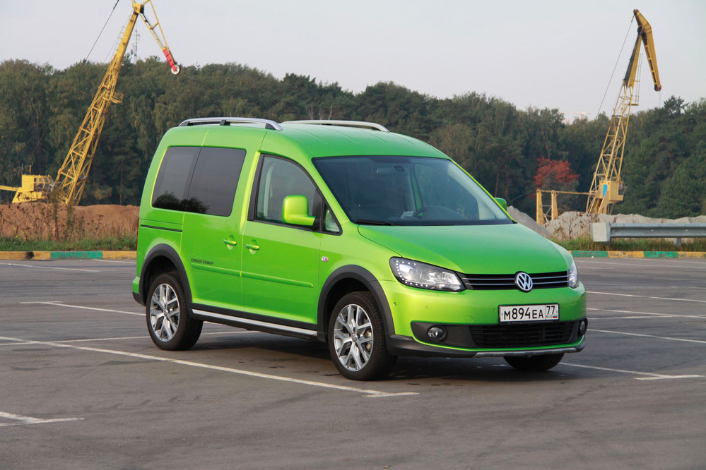 Тест-драйв Volkswagen Caddy Cross