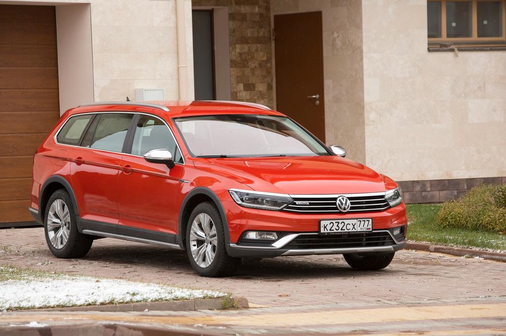 Тест-драйв Volkswagen Passat Alltrack – читать и смотреть фото на Am.ru