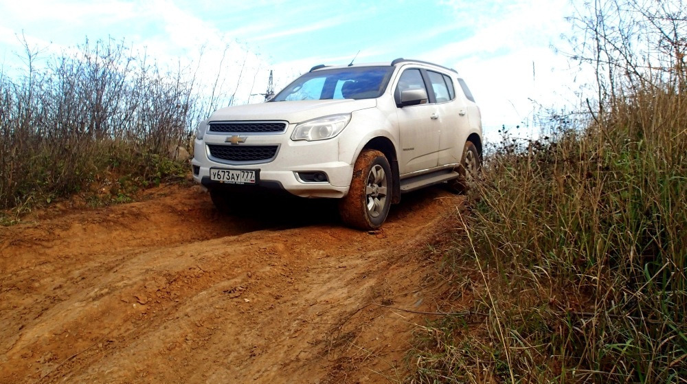 Тест-драйв нового Chevrolet TrailBlazer