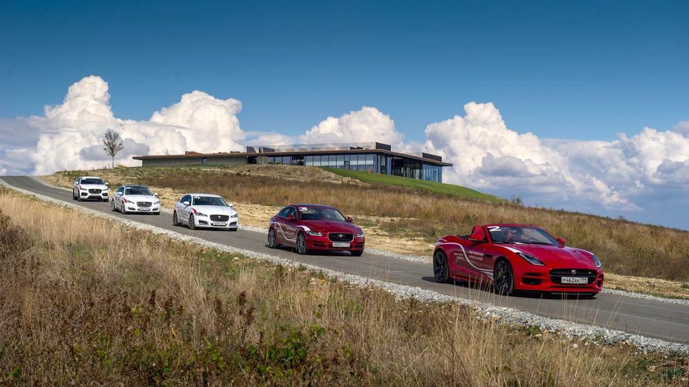 Тест-драйв всех моделей Jaguar – читать и смотреть фото на Am.ru
