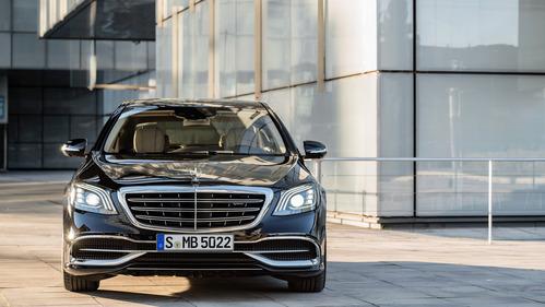 Фотогалерея обновлённого Mercedes S-Class.