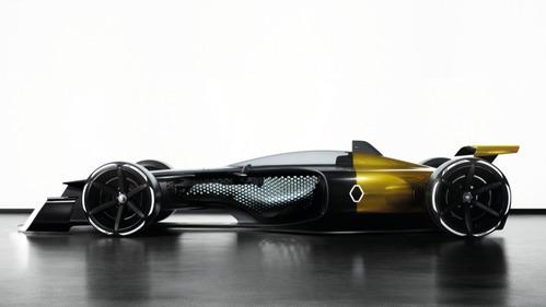 Концепт Renault R.S. 2027 Vision заглянул в будущее Формулы-1.