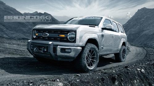 Новые подробности о новом Ford Bronco.