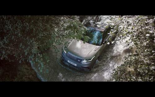 Видеоролик о новом кроссовере Range Rover Velar.