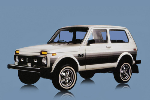 Официальные фотографии редких экспортных версий ВАЗ-2121