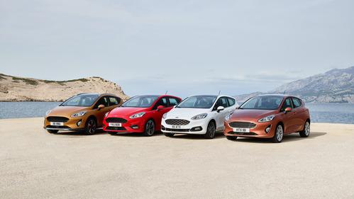 Фотогалерея нового хэтчбека Ford Fiesta.