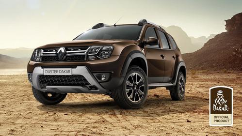 Фотогалерея новой спецверсии Renault Duster Dakar.