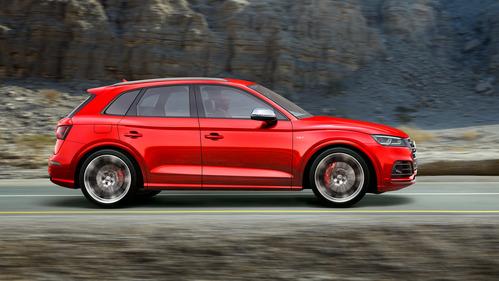 Галерея Audi SQ5 нового поколения.