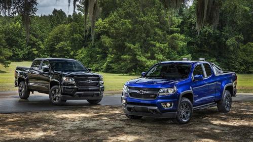 Фотогалерея обновлённого Chevrolet Colorado.