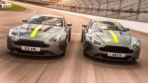 Фотогалерея Aston Martin Vantage AMR.