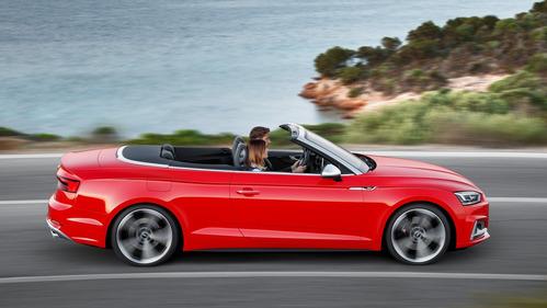 Официальные фотографии кабриолетов Audi A5 и S5 нового поколения - смотреть фото на Am.ru.