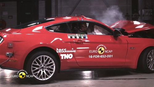 Euro NCAP Crash Test of Ford Mustang (reassessment)