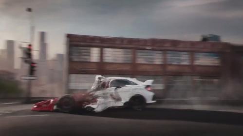 В новой рекламе Honda похвалилась своими спортивными машинами.
