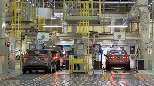 Hyundai хочет наладить производство двигателей в России.Новости Am.ru