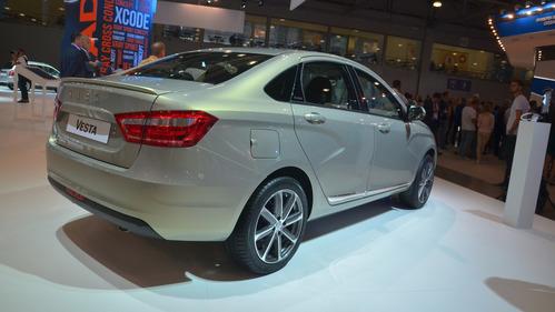 Lada Vesta получила версию Exclusive с мотором 1.8.Новости Am.ru