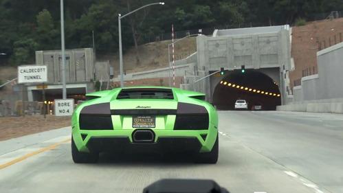 Ни с чем не сравнимый рык Lamborghini Murcielago LP640.